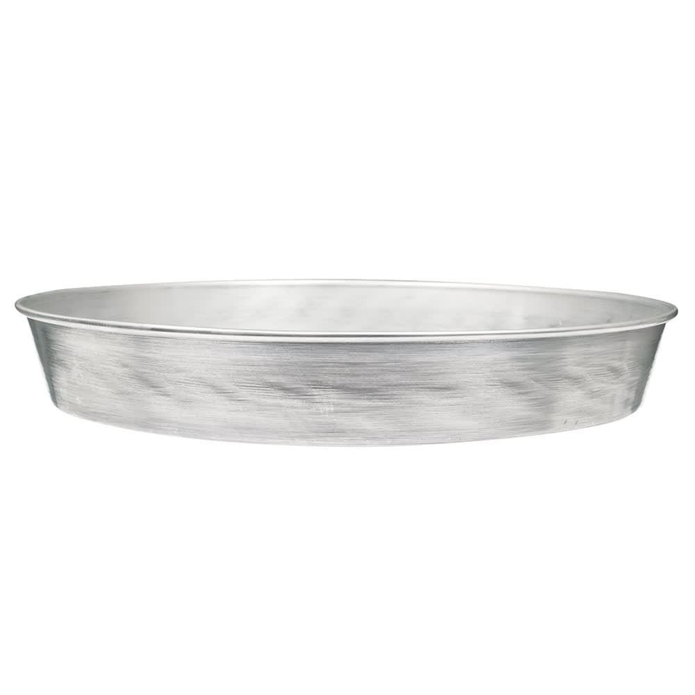 """American Metalcraft A90142 14"""" Tapered Pizza Pan, 2"""" Deep, Solid, Aluminum"""