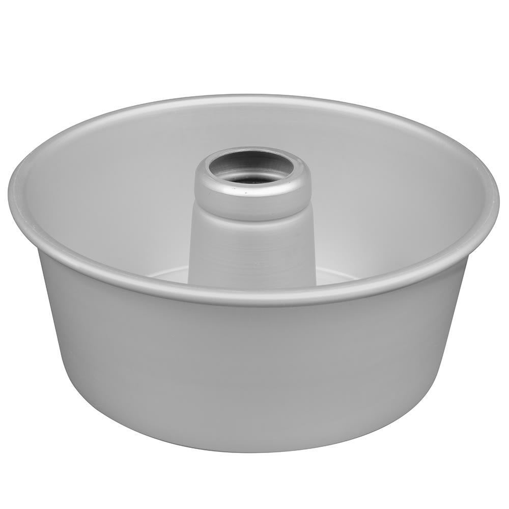 "American Metalcraft AFP958 Angel Food Cake Pan - 10x4"", 4.19"" Cone, 14 ga Anodized Aluminum, Satin Finish"