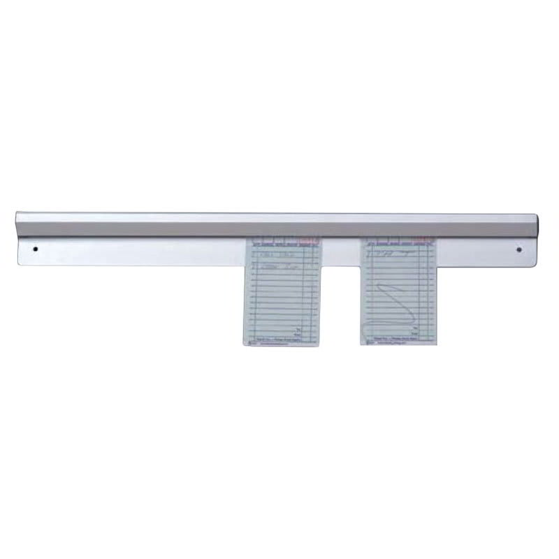 "American Metalcraft AOR18 Ticket Rack w/ Marble Inside, 18x2.5"", Aluminum"