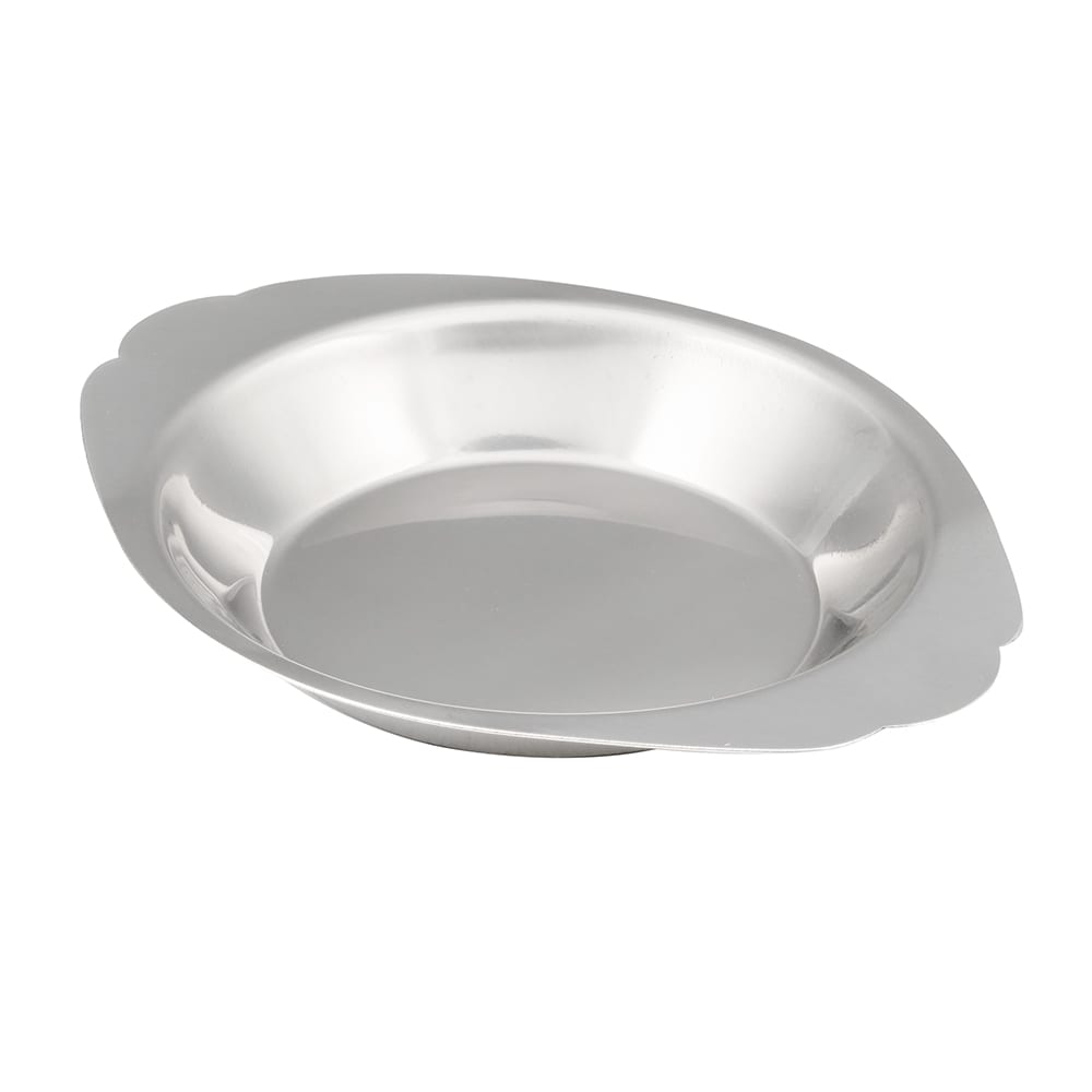 American Metalcraft AR080 Round Au Gratin Dish w/ 8-oz Capacity, Stainless