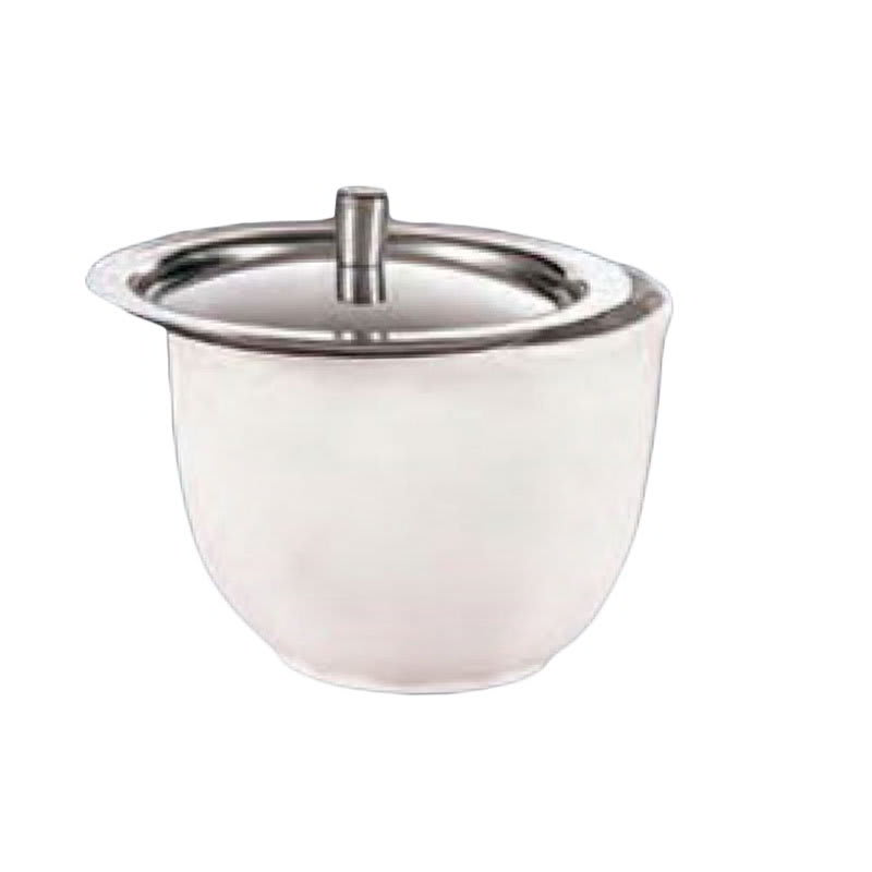 American Metalcraft BC300SP Custom Bouillon Cover w/ Knob & Sample Cup, Stainless