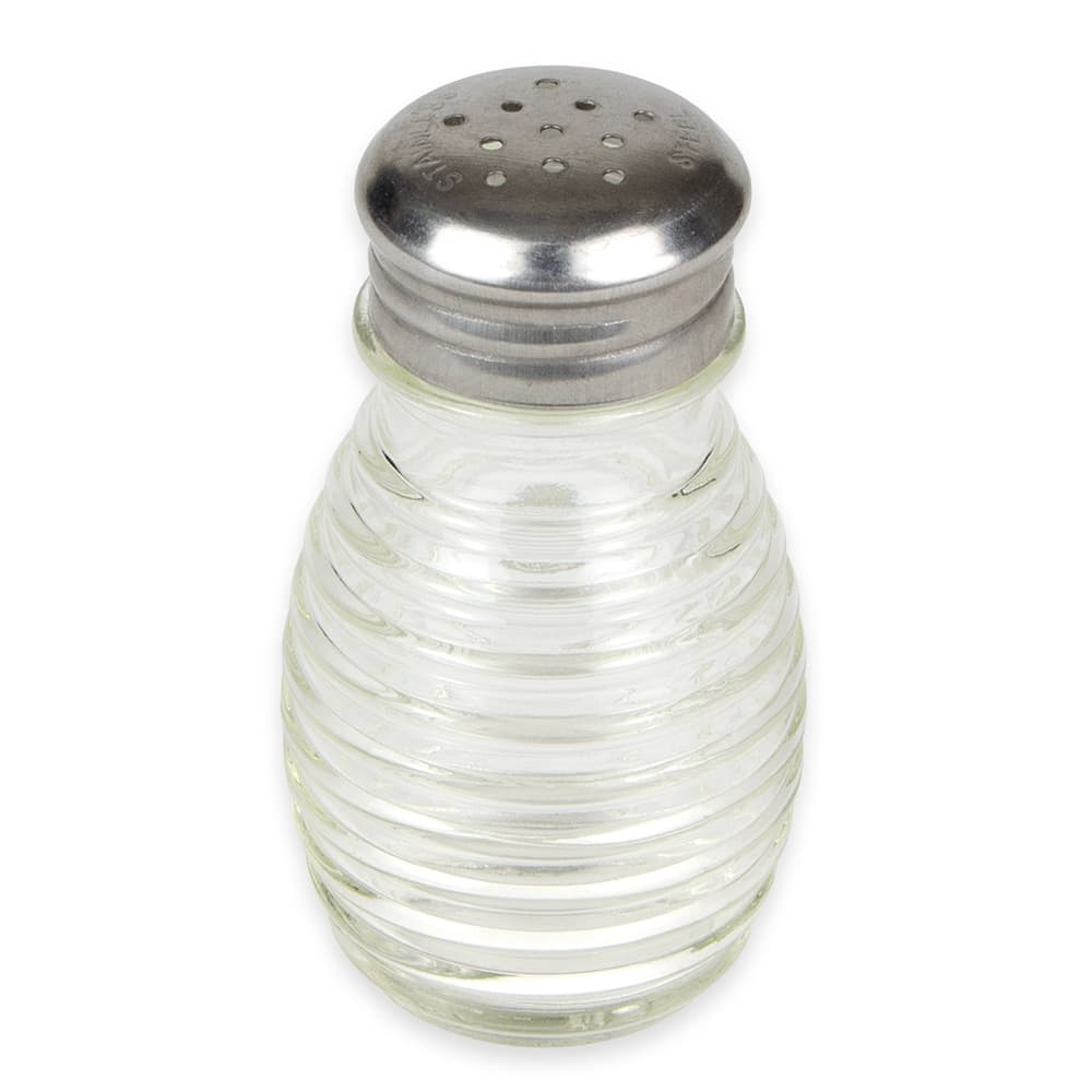 American Metalcraft BHM2 2-oz Shaker for Salt/Pepper - Metal Lid, Round
