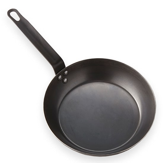 "American Metalcraft BSFP11 11"" Stainless Steel Frying Pan w/ Solid Metal Handle, Black"