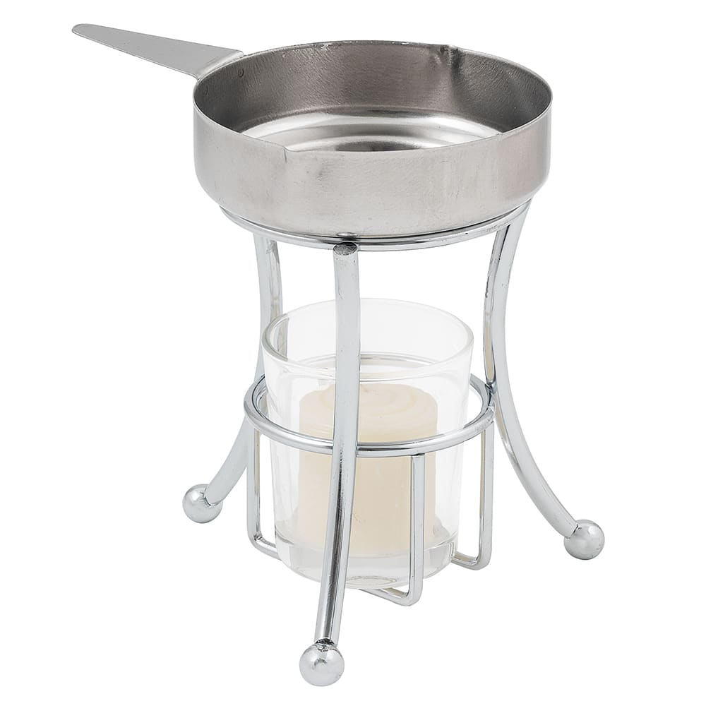 American Metalcraft BWPC35 Butter Warmer w/ 3.5 oz Capacity Cup, Chrome/Stainless