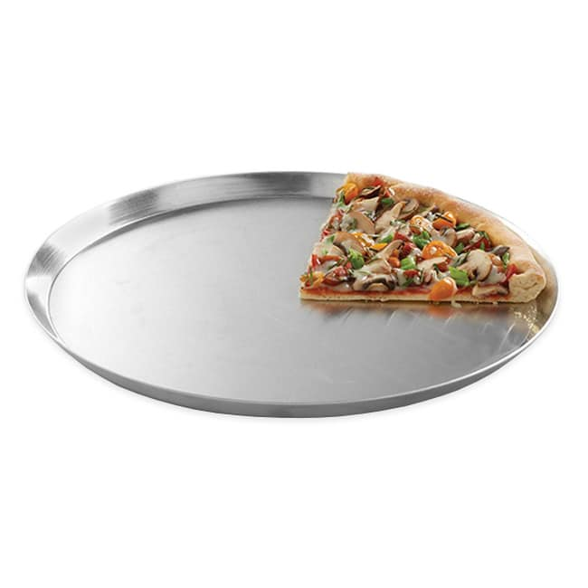 "American Metalcraft CAR12 12"" Solid Pizza Pan, Aluminum"