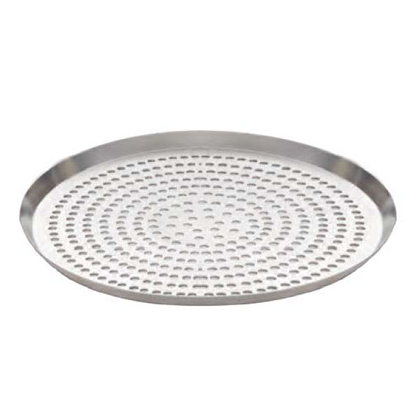 "American Metalcraft CAR12SP 12"" Round Super Perforated Pizza Pan, Aluminum"
