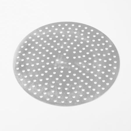 "American Metalcraft CAR16P 16"" Round Perforated Pizza Pan, Aluminum"