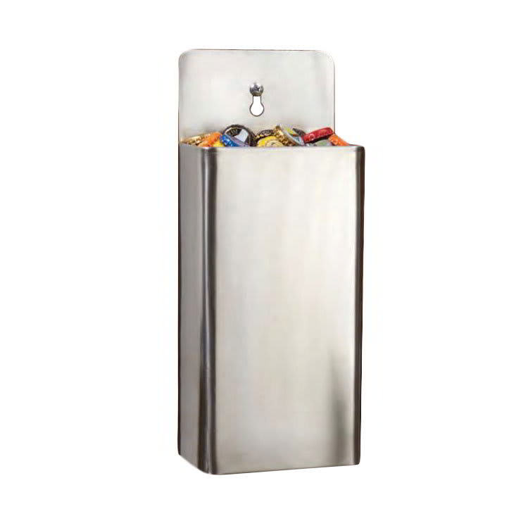 "American Metalcraft CC40 Cap Catcher, 10.12x5.25"", Stainless"