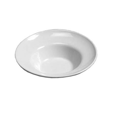 "American Metalcraft CER9 17"" Bowl w/ 180 oz Capacity, Ceramic/White"