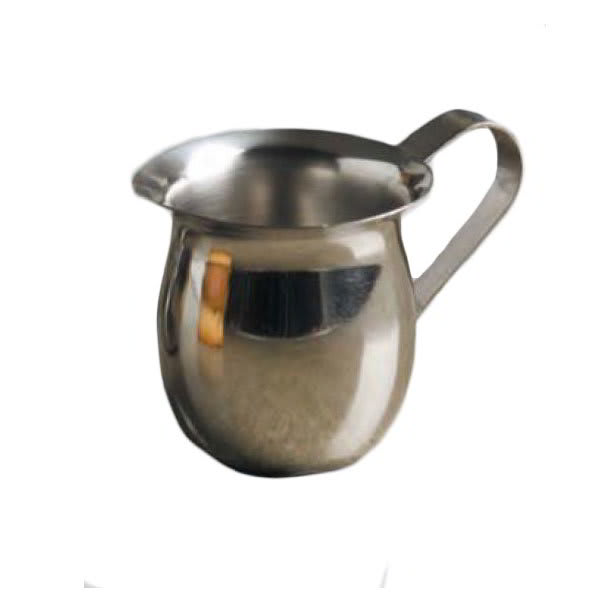 American Metalcraft CP300 Creamer w/ 3 oz Capacity & No Top, Mirror Finish, Stainless