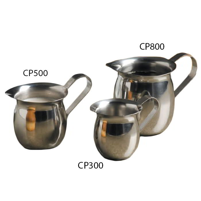 American Metalcraft CP800 Creamer w/ 8-oz Capacity & No Top, Mirror Finish, Stainless