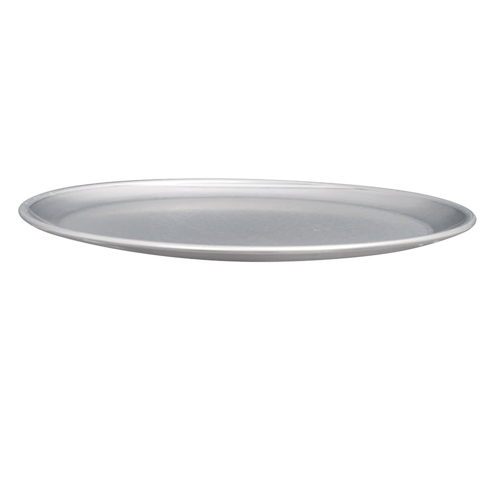 """American Metalcraft CTP10 10"""" Solid Pizza Pan, Coupe Style, Aluminum"""