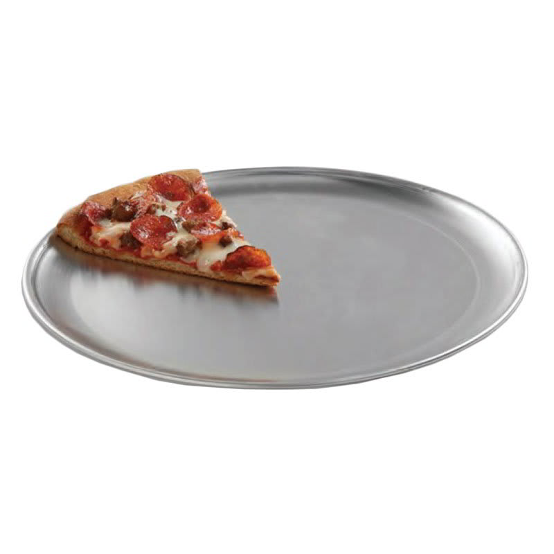 """American Metalcraft CTP11 11"""" Solid Pizza Pan, Coupe Style, Aluminum"""