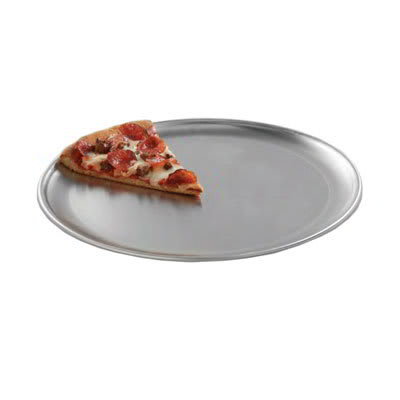 """American Metalcraft CTP13 13"""" Solid Pizza Pan, Coupe Style, Aluminum"""