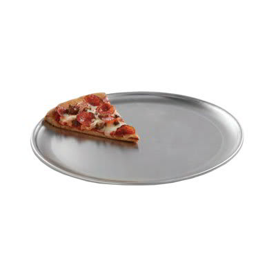 "American Metalcraft CTP16 16"" Solid Pizza Pan, Coupe Style, Aluminum"