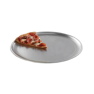 "American Metalcraft CTP19 19"" Solid Pizza Pan, Coupe Style, Aluminum"
