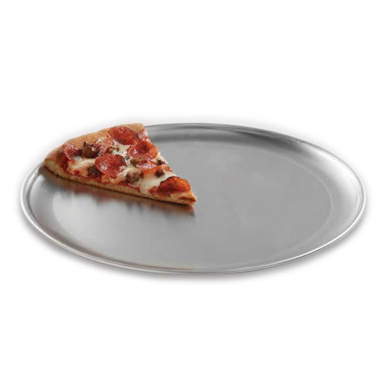 "American Metalcraft CTP6 6"" Solid Pizza Pan, Coupe Style, Aluminum"