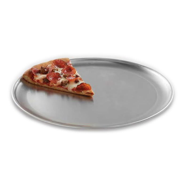"""American Metalcraft CTP7 7"""" Solid Pizza Pan, Coupe Style, Aluminum"""