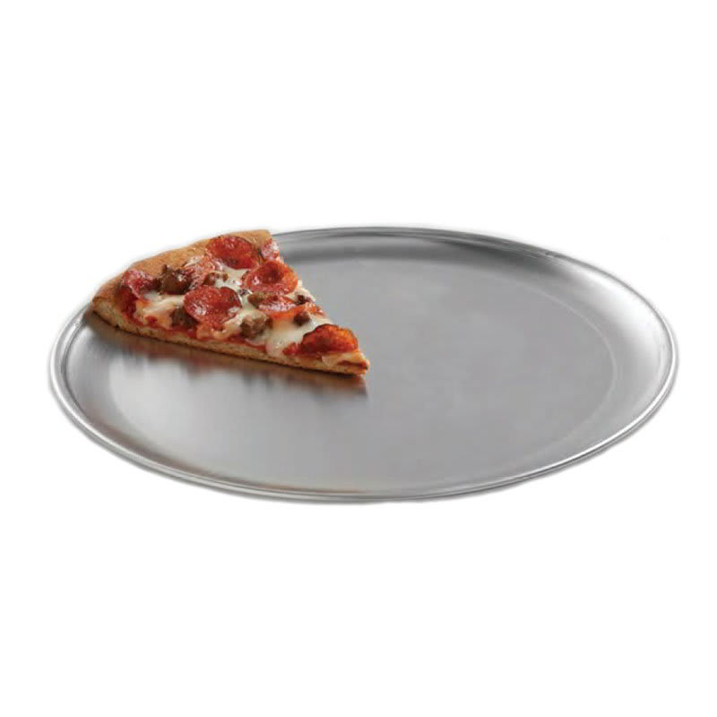 "American Metalcraft CTP9 9"" Solid Pizza Pan, Coupe Style, Aluminum"