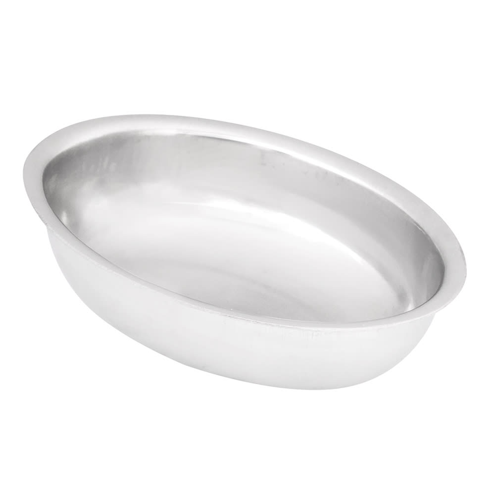 American Metalcraft D404 Oval Sauce Cup w/ 1.5 oz Capacity, Stainless