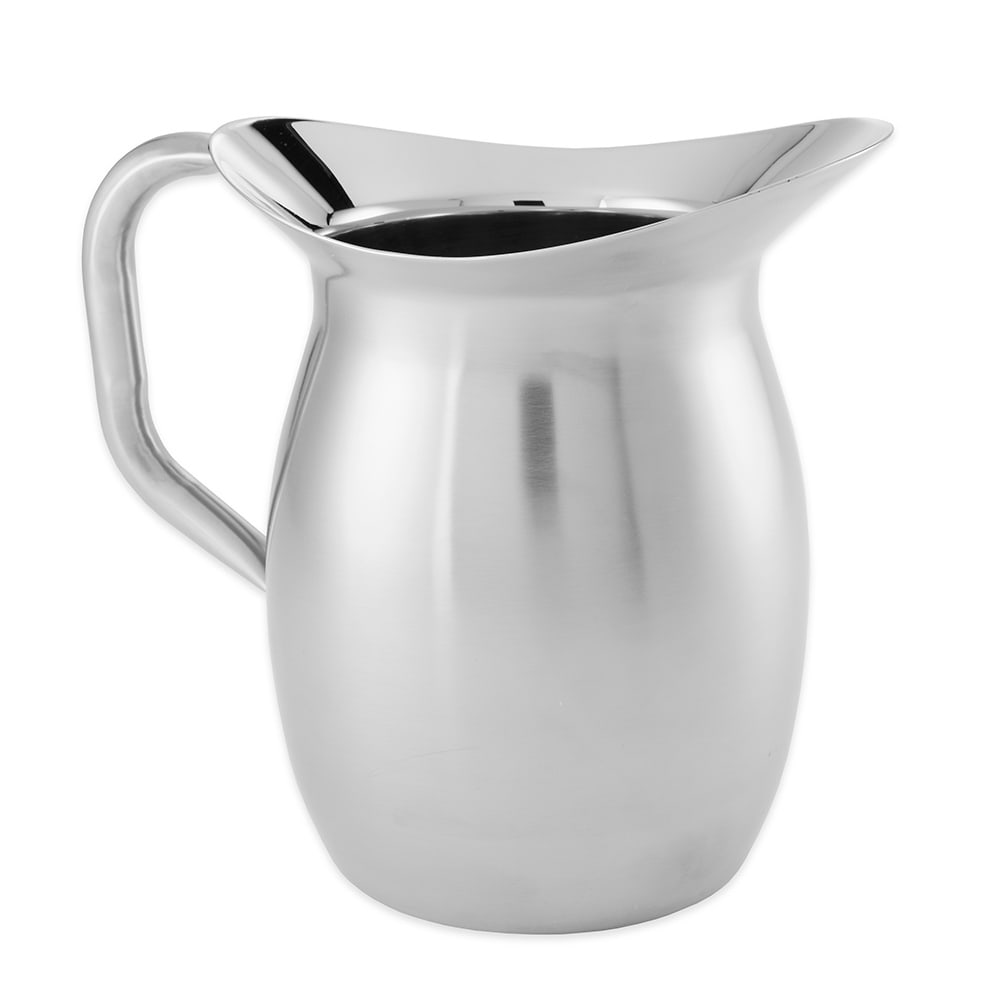 American Metalcraft DWPS64 Bell Pitcher w/ 64 oz Capacity, Satin Finish, Stainless