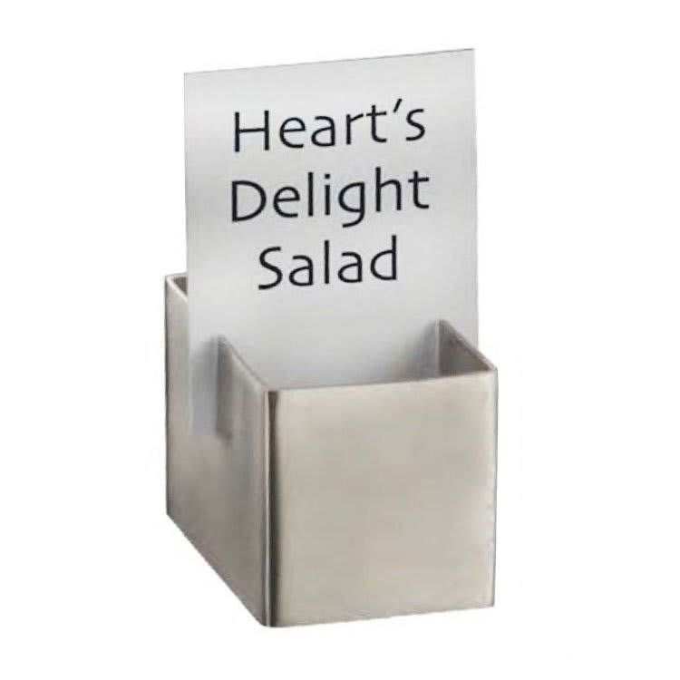 "American Metalcraft DXCH2 Card Holder, 1.75x1.12"", Stainless"