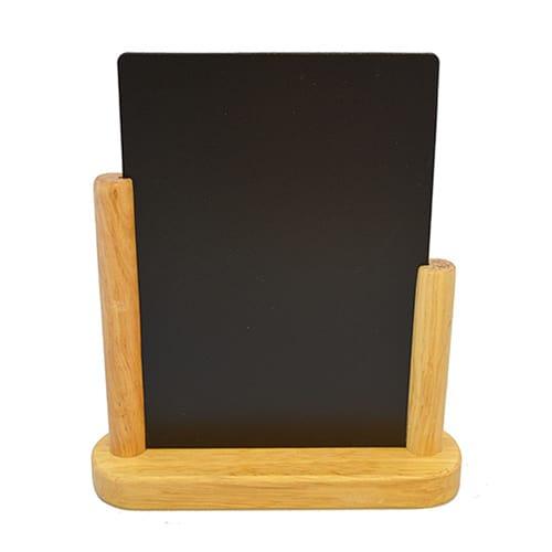 "American Metalcraft ELEBLA Table Top Board w/ Removable Blackboard, 9x12"", Wood"