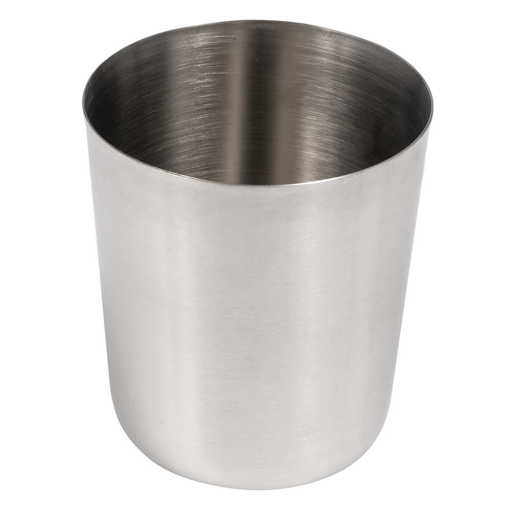 American Metalcraft FFC335 26 oz Round French Fry Cup - Satin-Finish Stainless