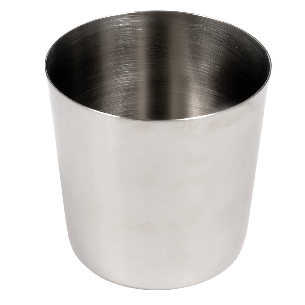 """American Metalcraft FFC337 3.37"""" French Fry Cup, Satin Finish, Stainless"""
