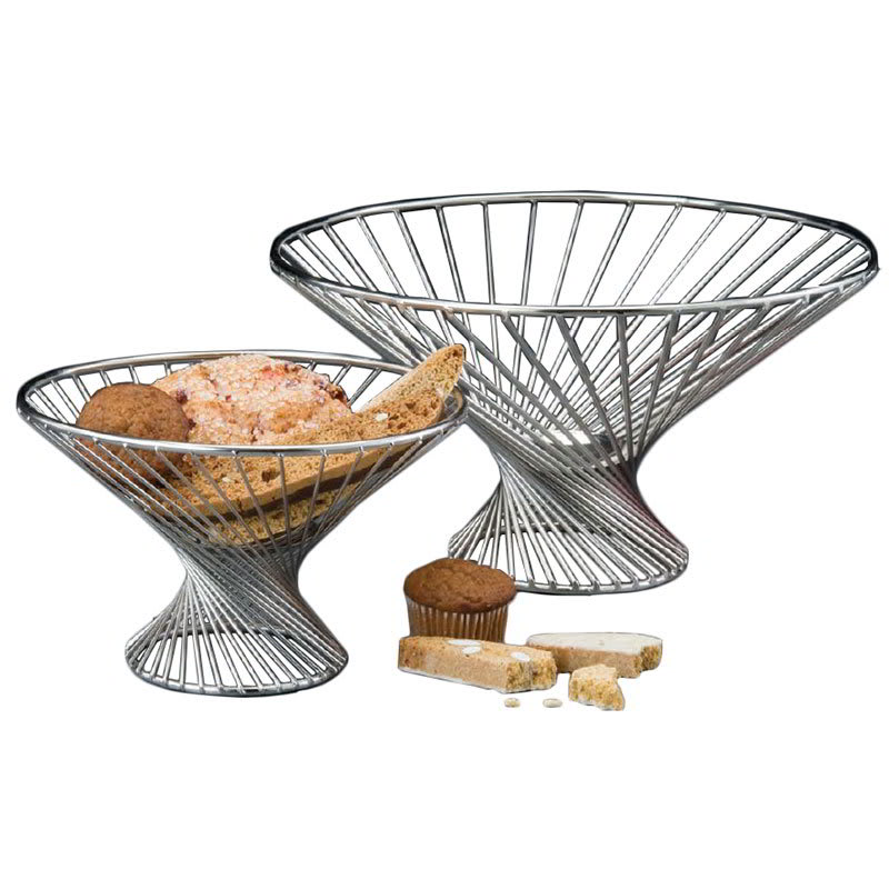 """American Metalcraft FR12 12"""" Whirly Basket, Stainless"""