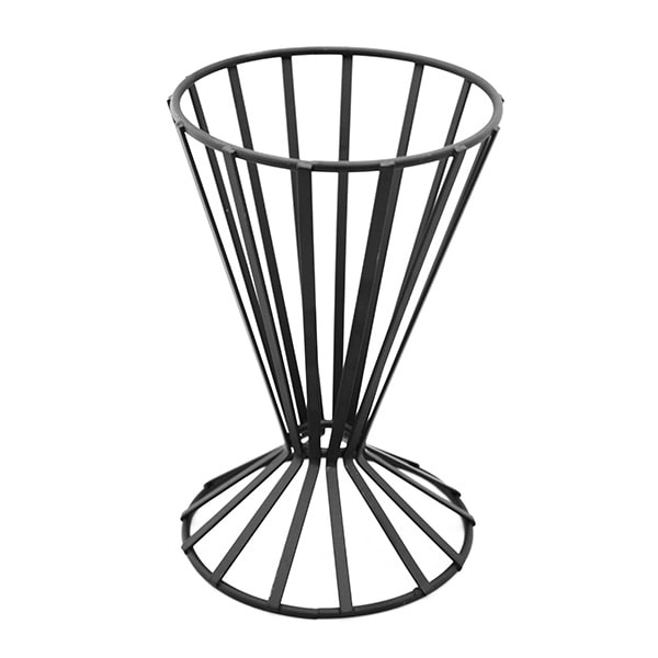 "American Metalcraft FWB4 4.5"" French Fry Basket, Black"