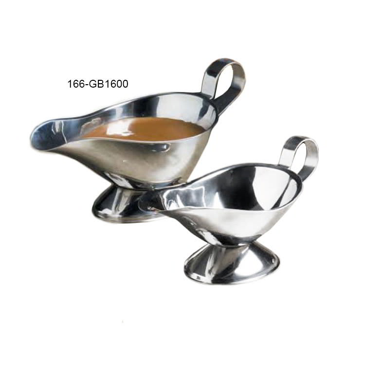 American Metalcraft GB1600 Gravy Boat w/ 16 oz Capacity, Stainless