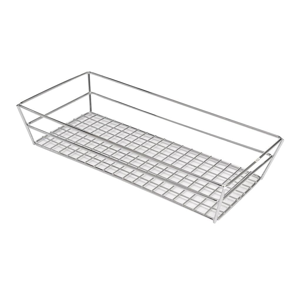 American Metalcraft GCRC1362 Rectangular Tabletop Basket, Chrome