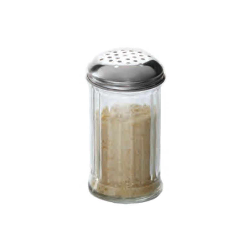American Metalcraft GLA312 Cheese Shaker w/ 12 oz Capacity, Glass/Stainless