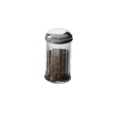 American Metalcraft GLA318 Dredge w/ 12 oz Capacity, Glass/Stainless