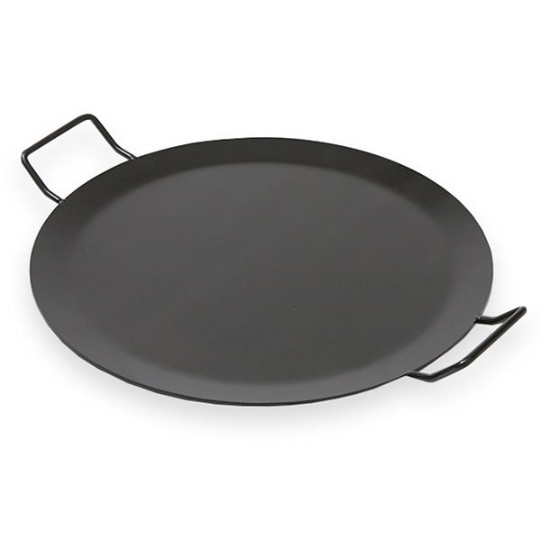"""American Metalcraft GS81 18"""" Round Buffet Griddle, Wrought Iron/Black"""