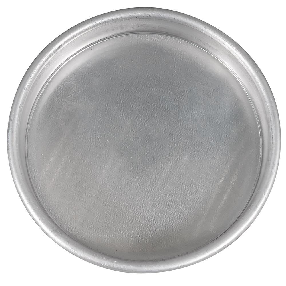 "American Metalcraft HA4006 6"" Straight Sided Pizza Pan, 1"" Deep, Aluminum"
