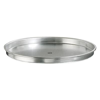 "American Metalcraft HA4014 14"" Straight Sided Pizza Pan, 1"" Deep, Aluminum"