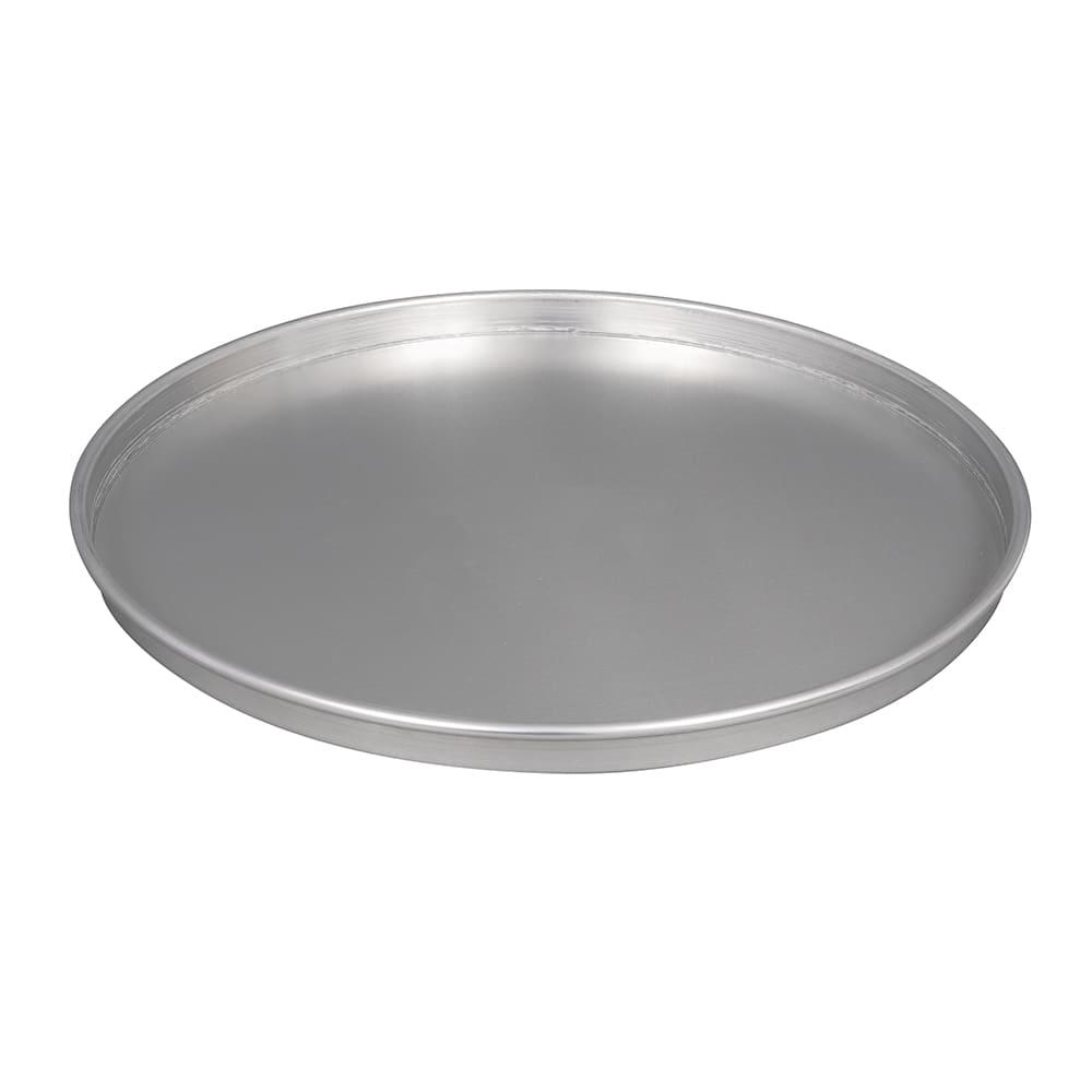 "American Metalcraft HA4018 18"" Straight Sided Pizza Pan, 1"" Deep, Aluminum"