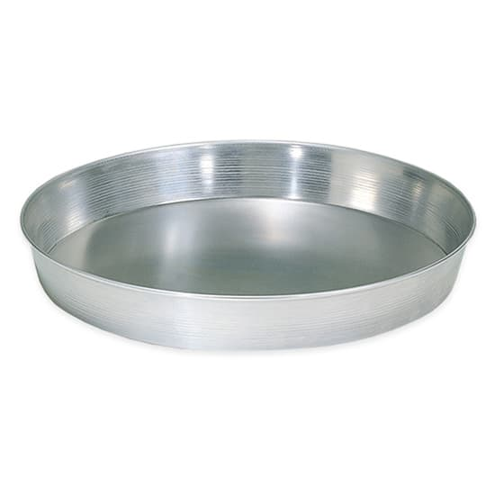 "American Metalcraft HA90082 8"" Tapered Pizza Pan, 2"" Deep, Aluminum"