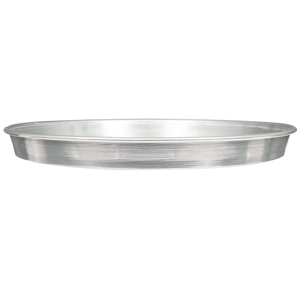 "American Metalcraft HA90161.5 16"" Tapered Pizza Pan, 1.5"" Deep, Aluminum"