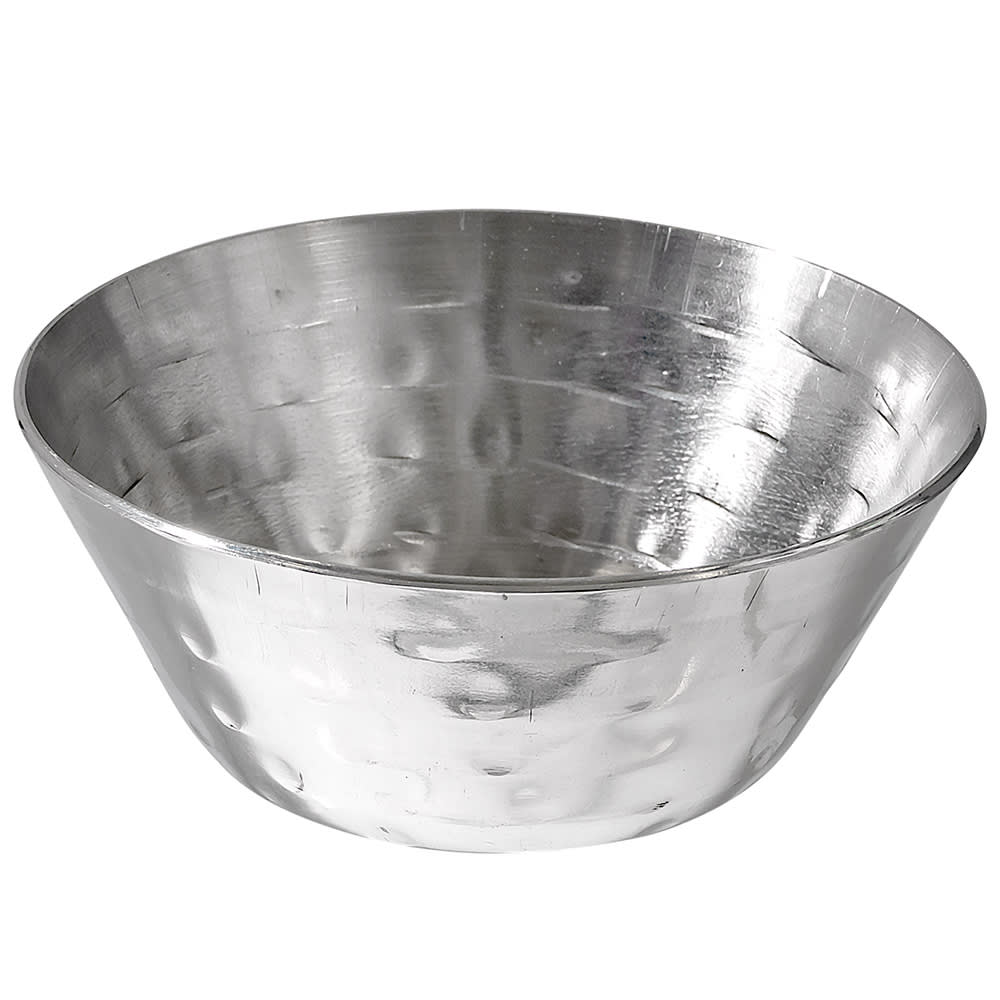 American Metalcraft HAMSC3 1-1/2-oz Sauce Cup - Hammered-Finish Stainless