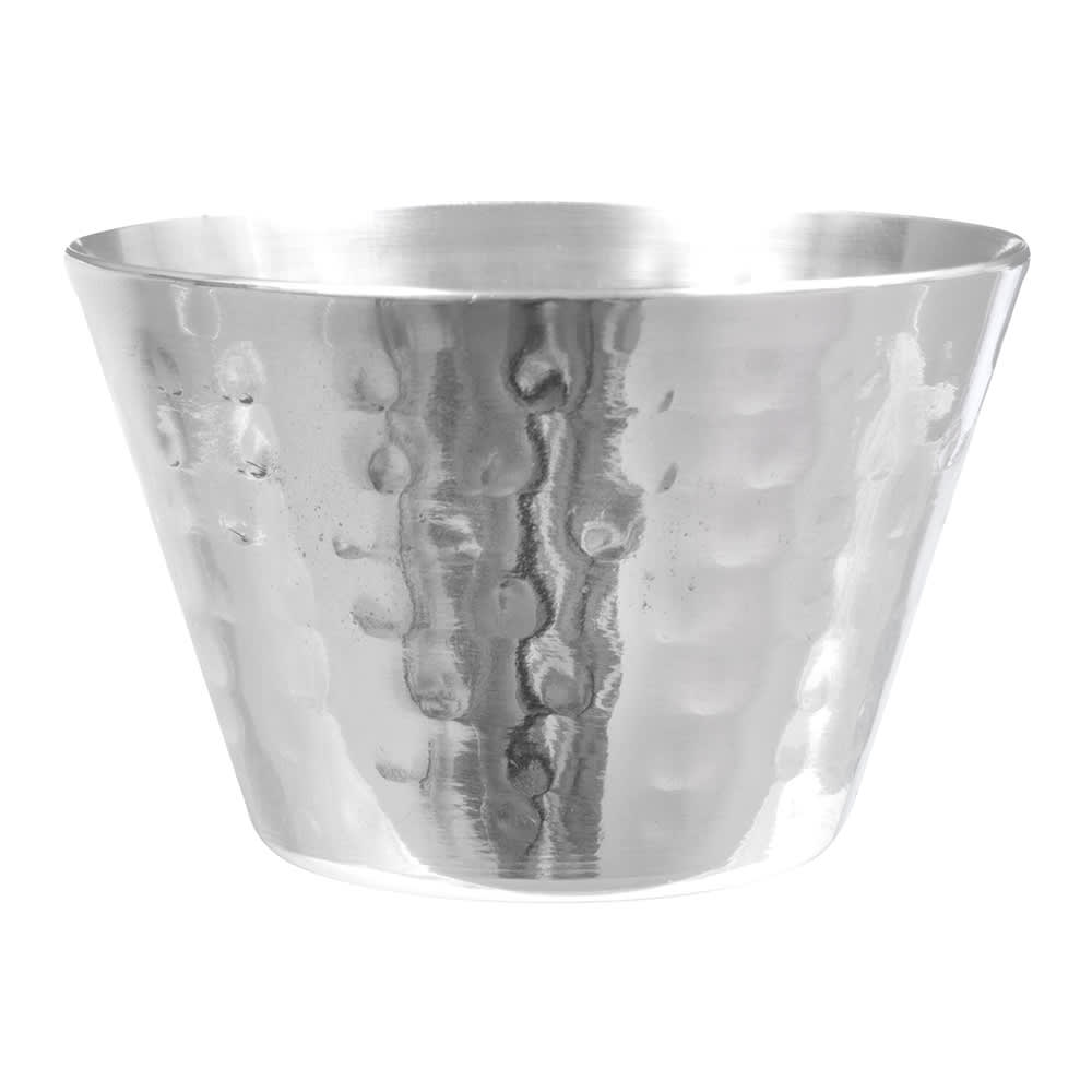 American Metalcraft HAMSC4 4-oz Sauce Cup - Hammered-Finish Stainless