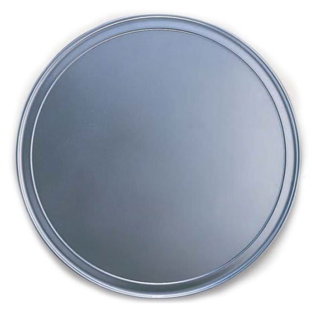 "American Metalcraft HATP15 15"" Wide Rim Pizza Pan, Aluminum"