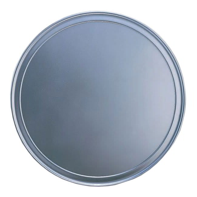"American Metalcraft HATP18 18"" Wide Rim Pizza Pan, Aluminum"