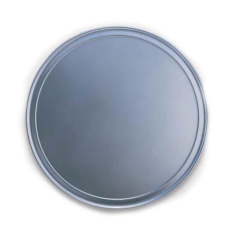 "American Metalcraft HATP21 21"" Wide Rim Pizza Pan, Aluminum"