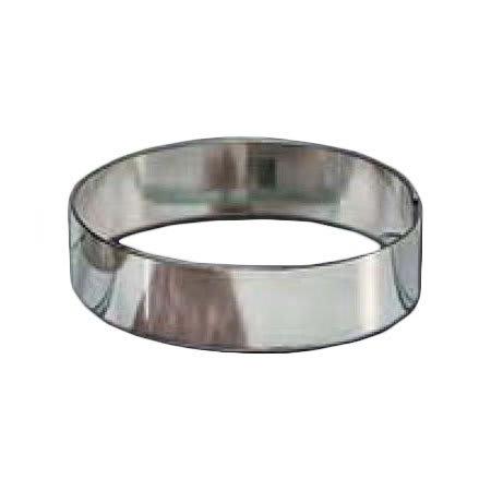 "American Metalcraft HB397 4"" Hash Brown Ring, Stainless"