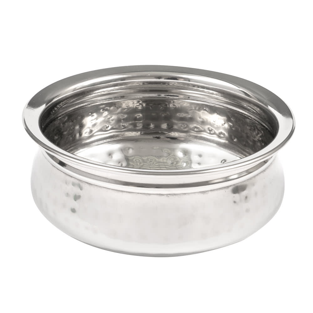 American Metalcraft HB6 27-oz Round Bowl - Hammered-Finish Stainless
