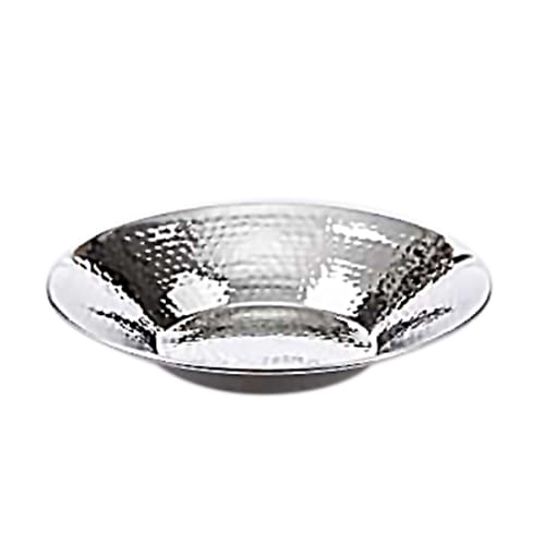 "American Metalcraft HMRD08 8.5"" Round Bowl, Hammered, Stainless"