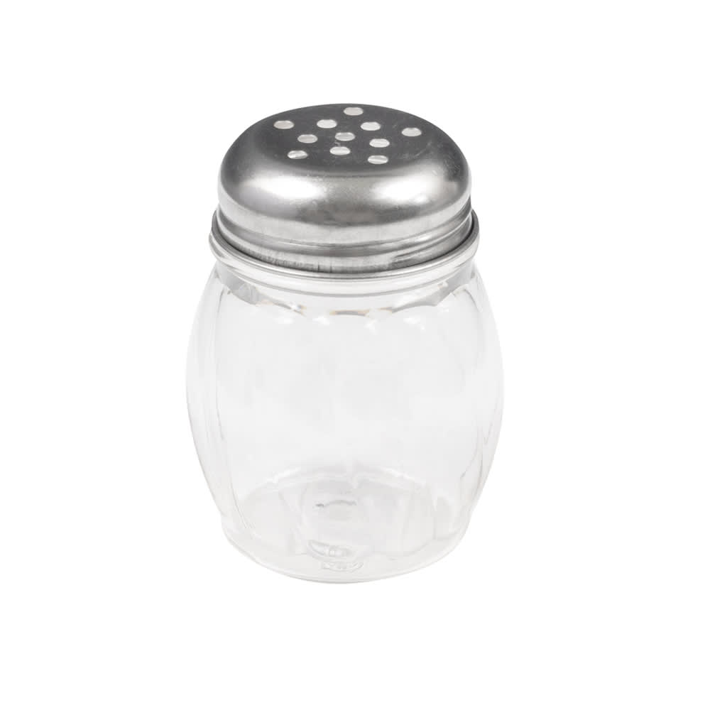 American Metalcraft LX306 Cheese Shaker w/ 6 oz Capacity & Top, Stainless